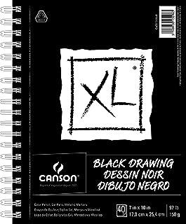 "CANSON XL Series Black Drawing, 7"" x 10"""