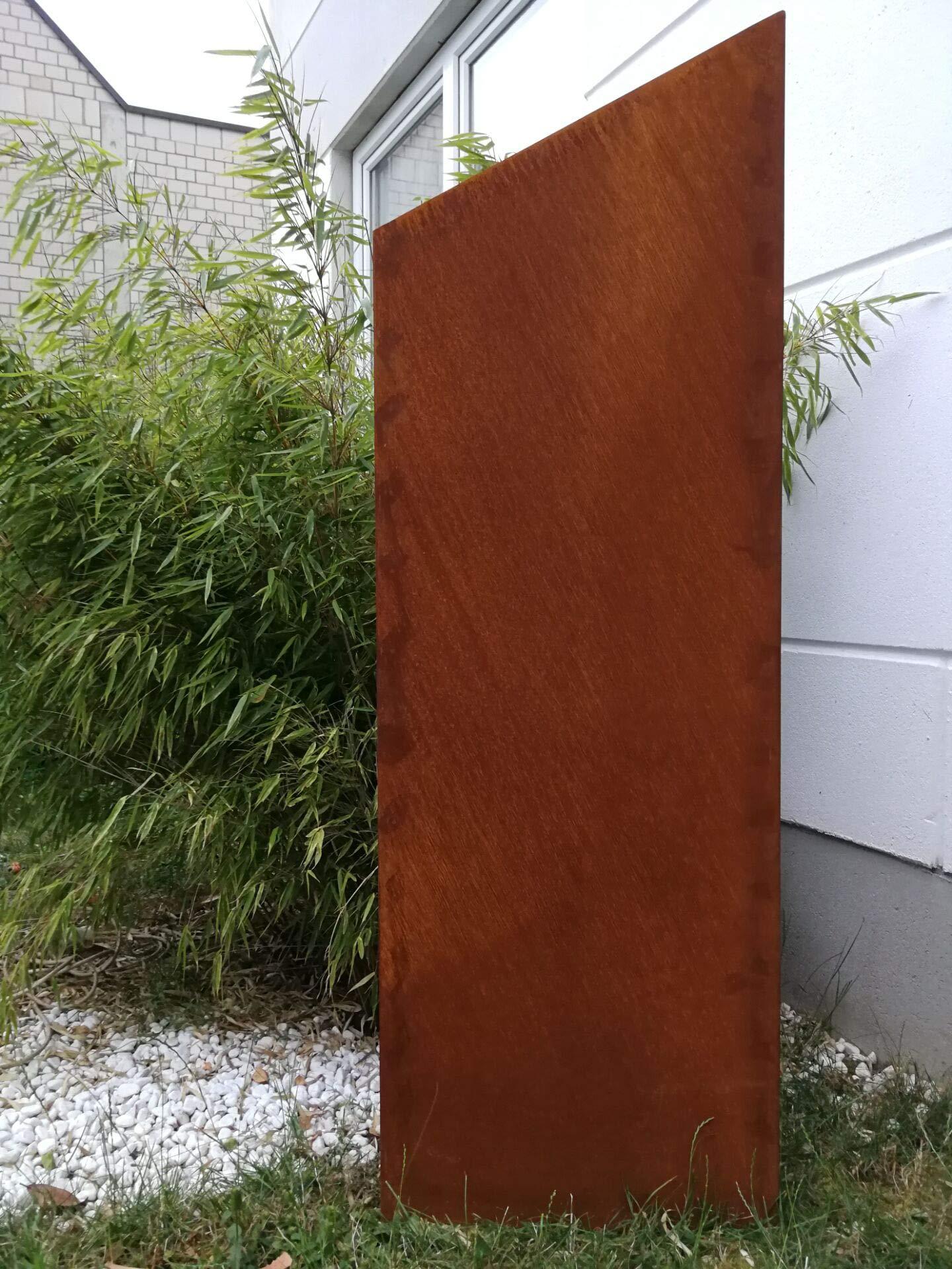 Zen Man 031997-1 - Valla de jardín de Metal Oxidado, 1 mm, Rejilla ...