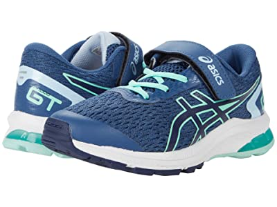 ASICS Kids GT-1000 9 (Toddler/Little Kid) (Grand Shark/Peacoat) Boys Shoes