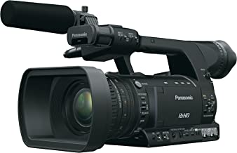 Panasonic AG-HPX250PJ HD Handheld Video Camera with 3.45-Inch LCD (Black)