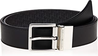 Tommy Hilfiger Men's Urban Reversible Cc 3.5 Belt, Black, 90 cm