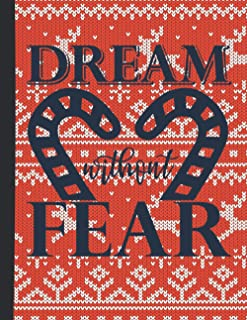 Dream Without Fear: Simple Goal Planner | Productivity and Wellness for Women | Goal Planner To Log Daily Actions | Build ...