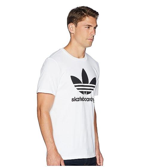 0 blanca negra Skateboarding Clima adidas Camiseta 3 qagI0gw