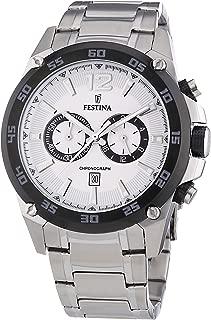Reloj Cronógrafo para Hombre de Cuarzo con Correa en Acero Inoxidable F16680/1
