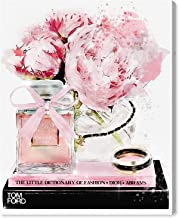 "The Oliver Gal Artist Co. The Floral and Botanical Wall Art Decor Collection, 20228_20x24_Canv_XHD, Pink, 24"" x 28"""