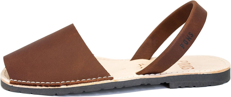 Pons 510 - Avarca Classic Style Women - Chocolate - 36 (US 6)