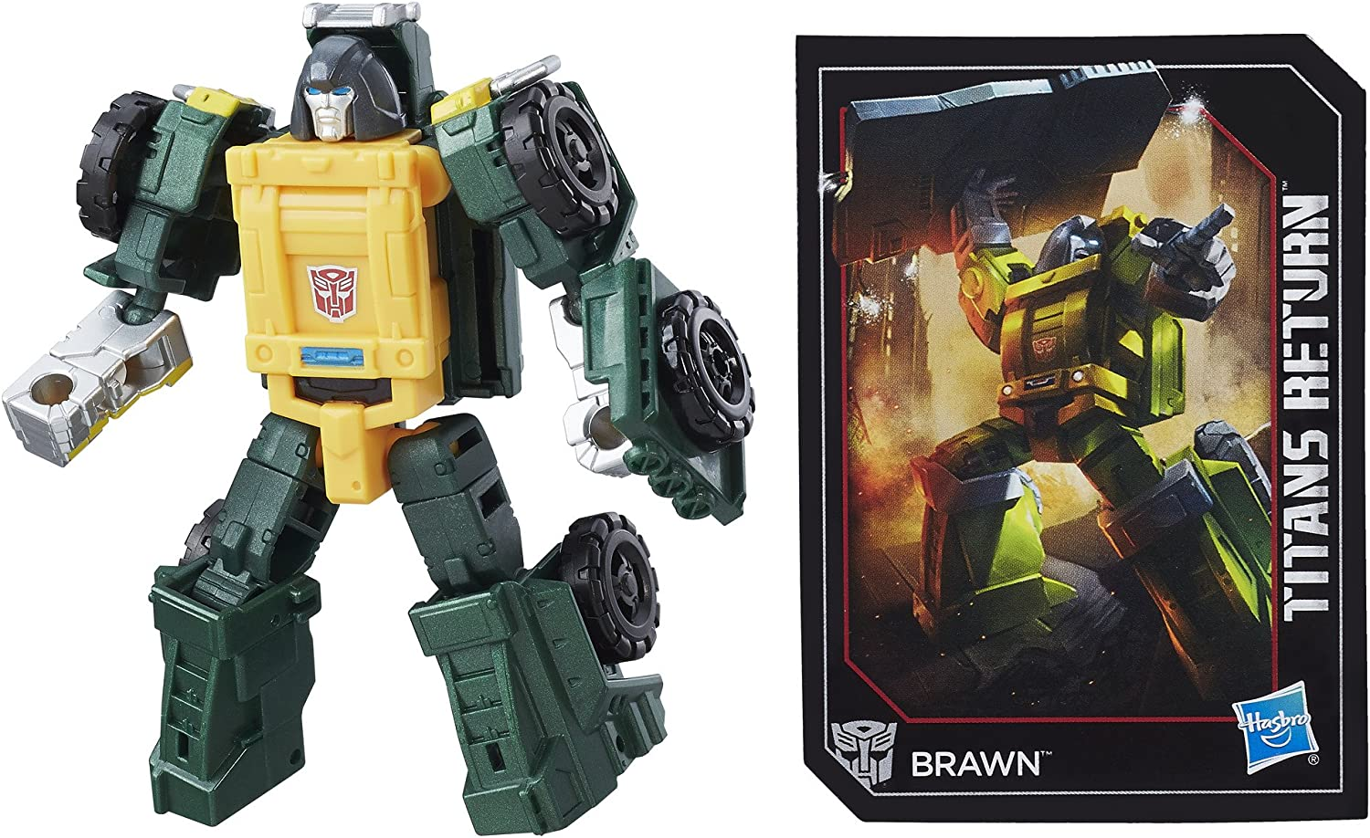 Transformers C1103 Generations Legends Brawn