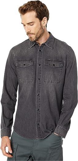 Marine Slim Shirt Long Sleeve