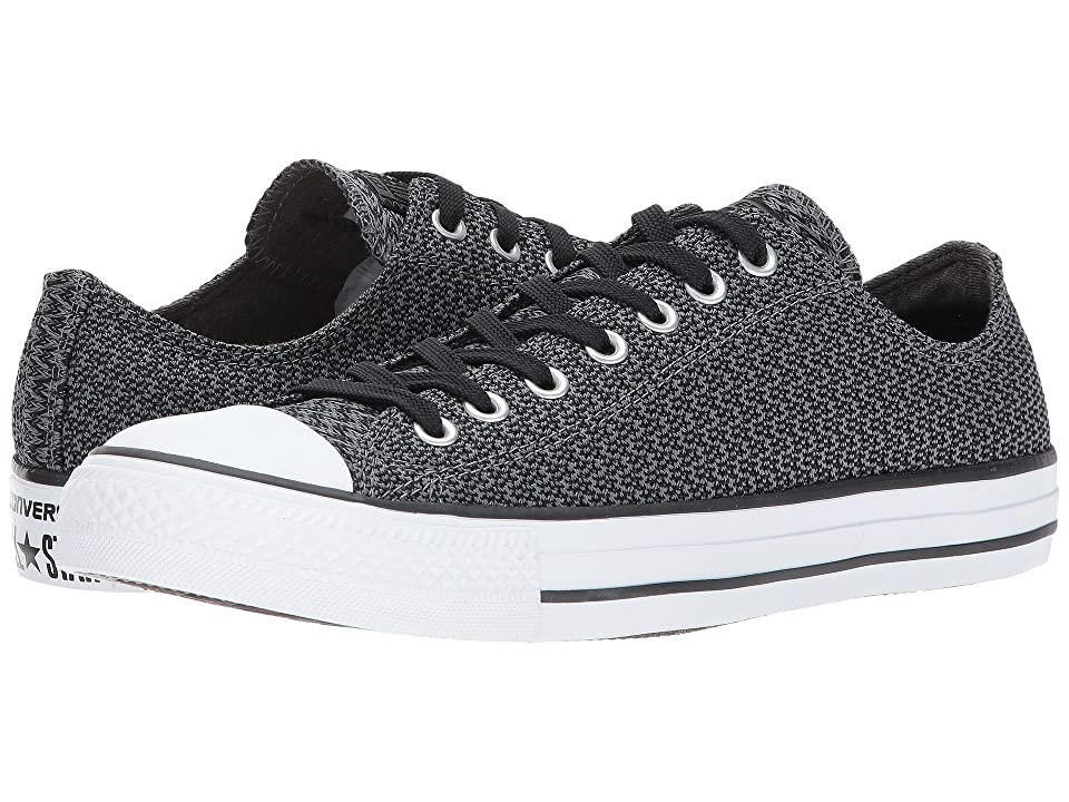 7596a13670d8 Converse Chuck Taylor All Star Ox (Thunder Black White) Lace up casual
