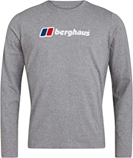 Berghaus Men's Organic Big Logo Long Sleeve T-Shirt