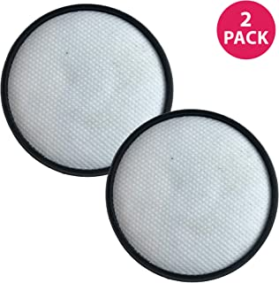 Crucial Vacuum Replacement Vacuum Filter – Compatible with Hoover Vacuum Model Primary Filter Part # 303903001, Model UH70400, UH70405, UH70401, UH70403, UH70404, UH70900, UH70905, UH70930 (2 Pack)