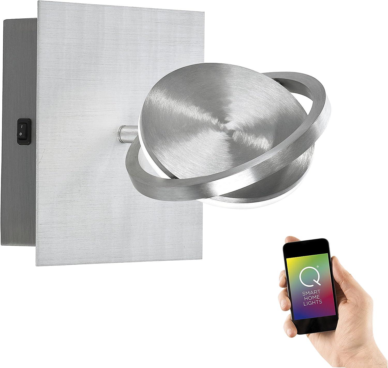 Paul Neuhaus 9801-95 Q-ORBIT LED Wandleuchte Spot Smart Home CCT Lichttemperaturwechsel