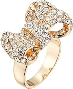 GUESS - Pave Bow Ring