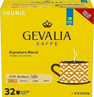 Gevalia Signature Blend, Mild Roast K-Cup Coffee Pods, 32 ct Box