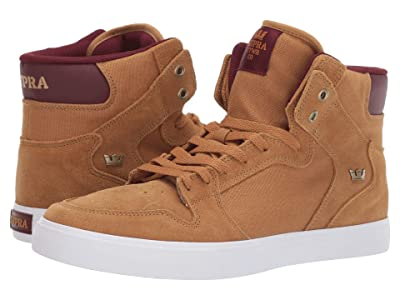 Supra Vaider (Tan/Wine/White) Men