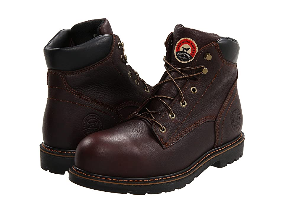 Irish Setter 83604 6 Aluminum Toe (Brown) Men