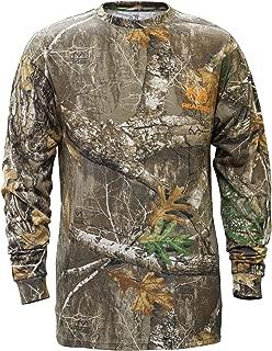 Staghorn Mens All Over Camo Long-Sleeve Tee Shirt