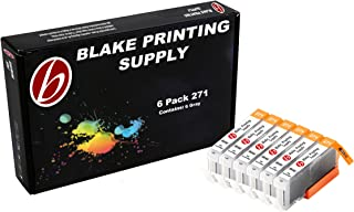 6 Gray Blake Printing Supply CLI-271XL 271 XL Cartridges for Canon PIXMA MG7700 PIXMA MG7720 PIXMA TS8020 PIXMA TS9020