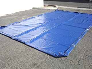 All American Water Containment Mat for Car Wash and Mobile Detailing - 12'x23' Car Wash Mat