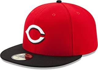 New Era 59Fifty Kid's/Youth Hat Cincinnati Reds Red/Black Fitted Cap