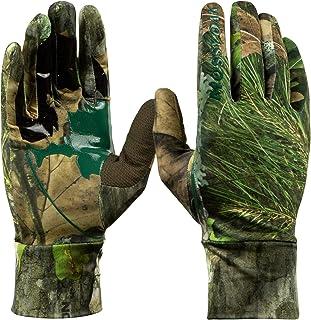 Mossy Oak Lightweight Hunting Gloves for Men, Turkey...