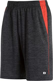 Men's Short Quickdry Basketball 10.5 Inch Inseam Extra Mile Short with Two Side Pockets