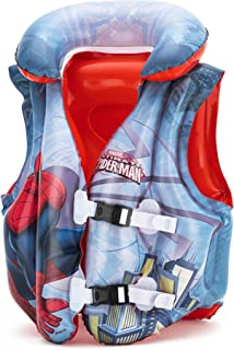 Bestway Spiderman Swimvest, Red, 98014