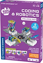 Thames & Kosmos Kids First Coding & Robotics: Challenge Pack 1 Science Experiment Kit for Early Learners | Expansion Pack for Kids First Coding & Robotics
