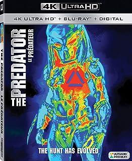 THE PREDATOR (2018) (Bilingual) [4K Blu-ray + Digital Copy]