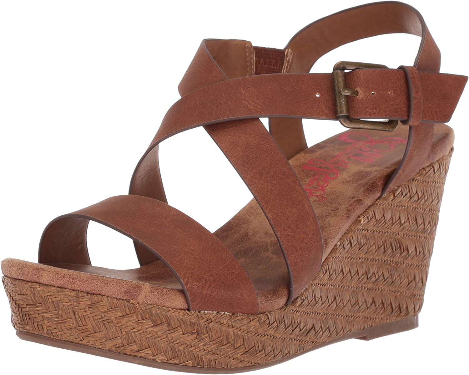 Jellypop Womens Tahoe Wedge Sandal
