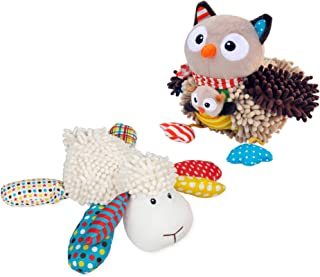 Lil Prayer Buddy Louie the Lamb and Olivia the Owl 2 Pc Set