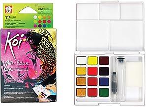 Sakura Pocket Set Koi Watercolor Kit, 12 Colors Count