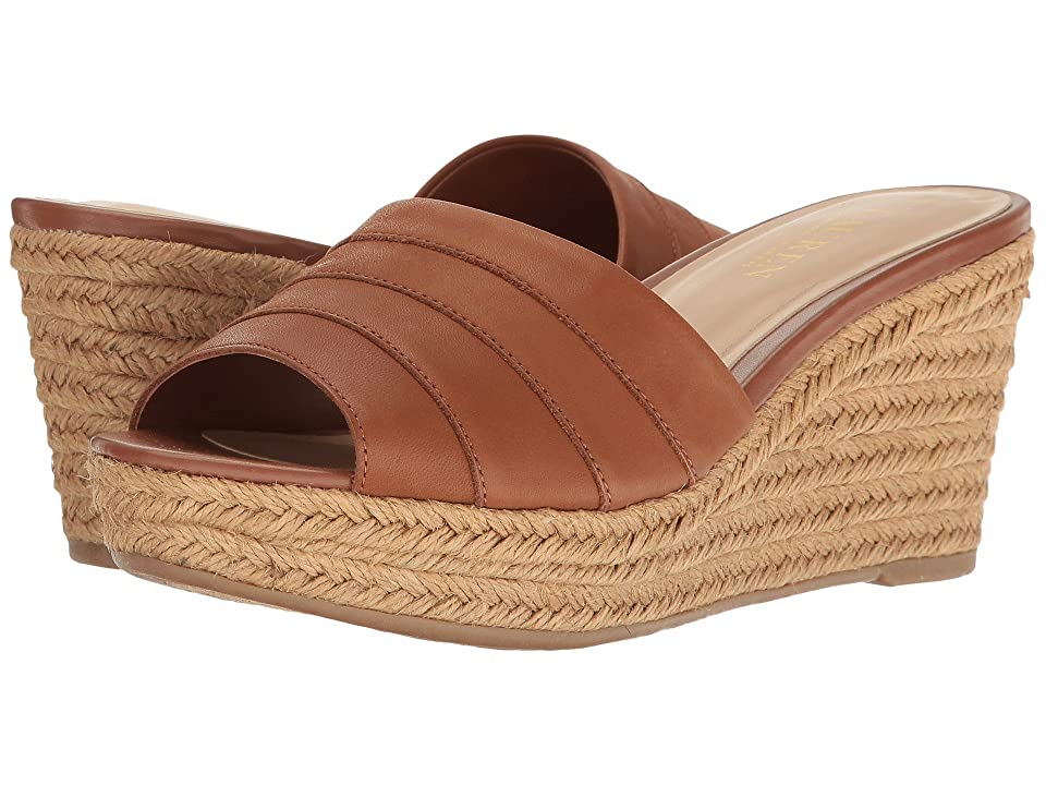 LAUREN Ralph Lauren Karlia (Deep Saddle Tan) Women