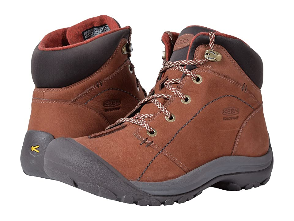 Keen Kaci Winter Mid Waterproof (Tortoise Shell/Marsala) Women