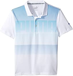PUMA Golf Kids - Logo Polo (Big Kids)