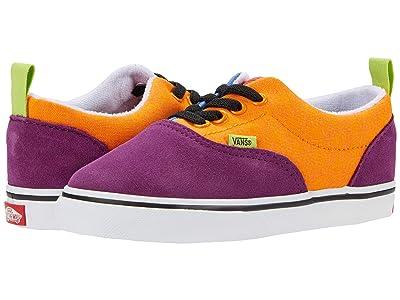 Vans Kids Era Elastic Lace (Infant/Toddler) ((Mix & Match) Grape Juice/Bright Marigold) Boys Shoes