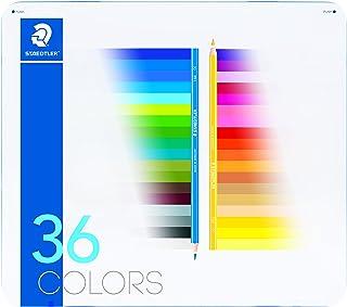 ステッドラー 色鉛筆 36色 油性色鉛筆 ノリスクラブ メタルケース入り 145 M36-2