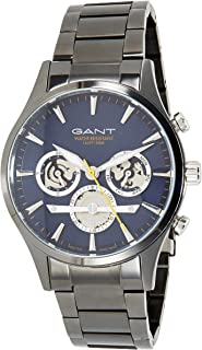 Gant Ridgefield Men's Blue Dial Stainless Steel Band Watch - G GWW005018