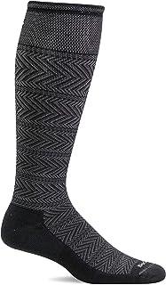 Sockwell Men's Chevron Twill Firm Graduated Compression Sock