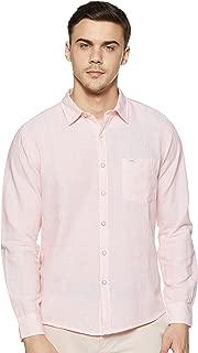 Pepe Jeans Men's Striped Regular fit Casual Shirt