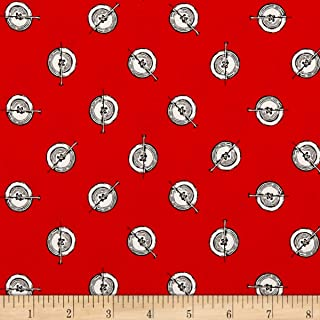 fabric with button design