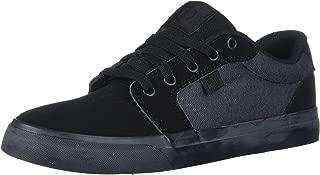 DC Men's Anvil SE Skate Shoe,  Black,  10 D M US