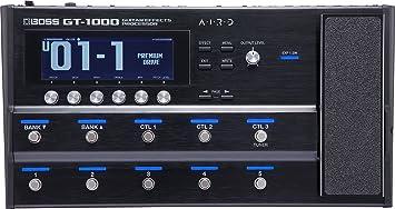 BOSS GT-1000 Guitar Effects Processor with AIRD Technology