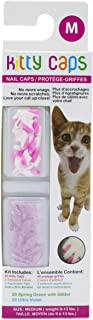 Kitty Caps Nail Caps for Cats   Safe & Stylish Alternative to Declawing   Stops Snags and Scratches