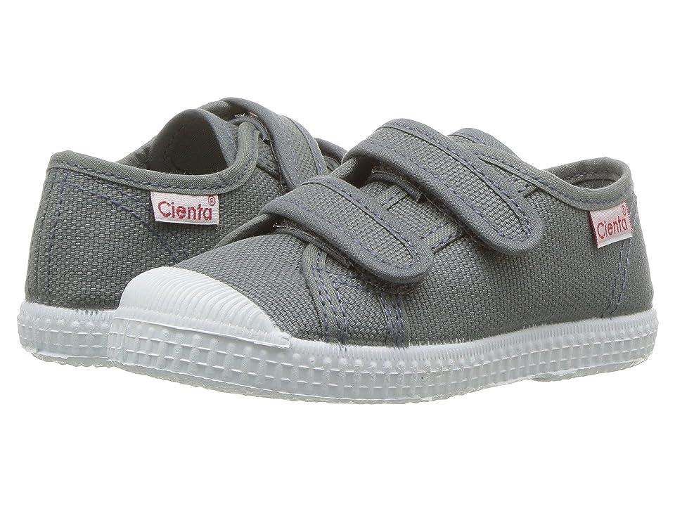Cienta Kids Shoes 78020 (Toddler/Little Kid/Big Kid) (Light Grey) Kid