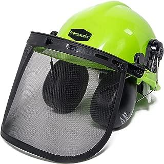 Greenworks GWSH0 Chainsaw Safety Helmet with Earmuffs