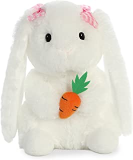 Aurora World Garden Bunny Stuffed Animal, Pink