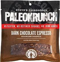 Steve's PaleoGoods, PaleoKrunch Paleo Bar Dark Chocolate Espresso, 1.5 oz (Pack of 6)
