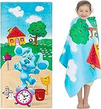 Franco Kids Toalla de Playa de algodón súper Suave, 71 x 147 cm, Blues Clues