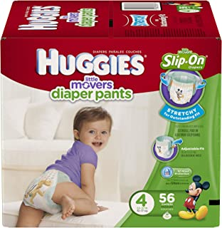 huggies little movers size 4 56 count